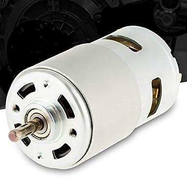 775 12V 12000 RPM Motor sin escobillas de metal DC de alta velocidad en miniatura para herramienta eléctrica destornillador