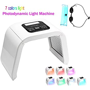 Amazon Com 7 Color Pdt Therapy Machine Skin Care Machine Anti Wrinkle Skin Care Tools For Face