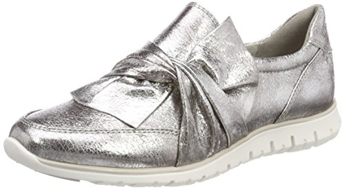 Marco Tozzi Women's 24738 Slip on Trainers Silver (Pewter 915) zekXxpXh
