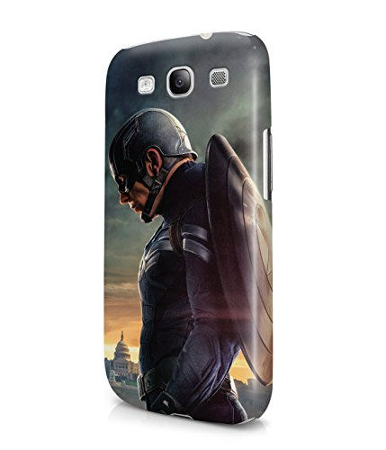 Captain America Winter Solider The Avengers Shield Superhero Plastic Snap-On Case Cover Shell For Samsung Galaxy S3