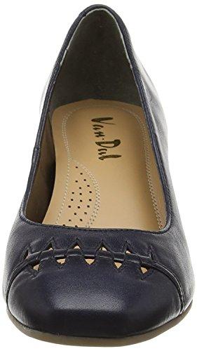 Van Dal Derry, Zapatos con Cuñas para Mujer Azul (midnight)