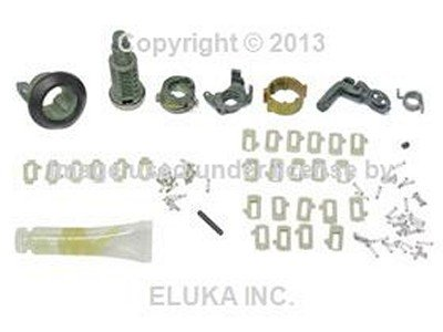 BMW Genuine Front Left Door Handle Lock Cylinder Repair Kit for 318i 318is 325e 325i (Bmw 318is Door Lock)