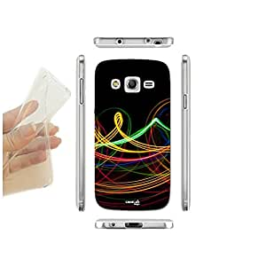 FUNDA CARCASA SLIM ONDE LUCI COLORATE PARA SAMSUNG GALAXY CORE G386F TPU