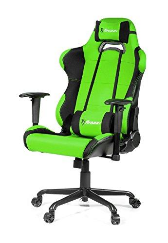Arozzi Torretta XL Series Racing Style Gaming Chair, Green -