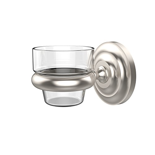 Allied Brass PQN-64-SN Prestige Que Wall Mounted Votive Candle Holder, Satin Nickel