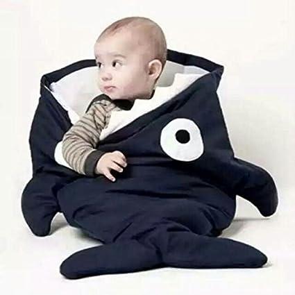 Tiburón sueño de bebé para niño Saco de dormir se tomará a Cales de anti-