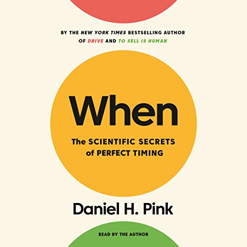 Book When: The Scientific Secrets of Perfect Timing<br />WORD