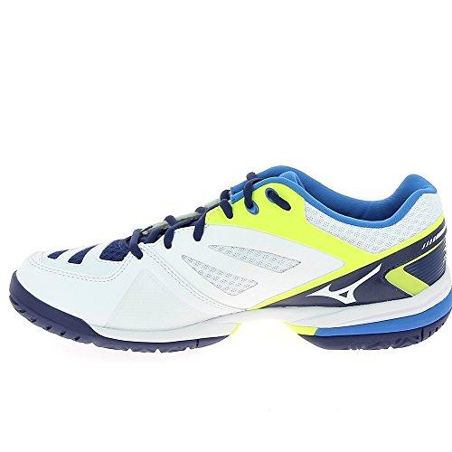 de Wave Tennis Mizuno Exceed AW17 blue Chaussure Court All WTXRnXPvq
