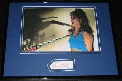 Heidi Kozak Signed Framed 11x14 Photo Splendour Friday the 13th Part VII