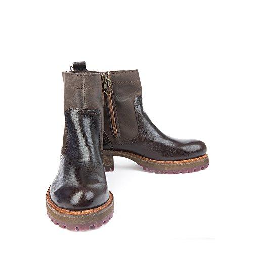 Felmini - Chaussures Femme - Tomber en amour avec Clara 9195 - Bottines Cowboy & Biker - Genuine Cuir - Multicolore