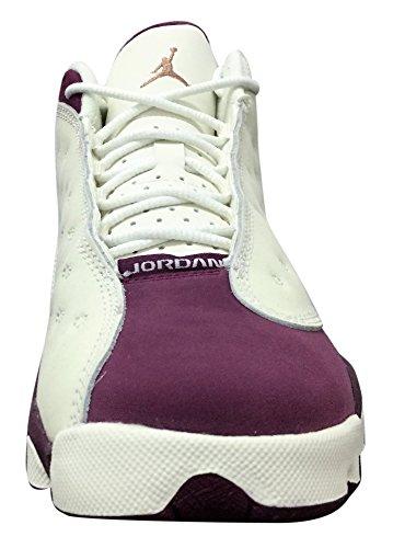 Jordan Air Retro 13 GG Wolf Grey lifestyle Sail/Metallic Red Bronze-bordeaux/Black/Grey/Burgundy gsQdagD
