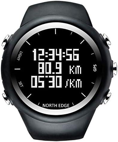 ZHQEUR Reloj Clasico North Edge Moda Masculina Deporte Profesional al Aire Libre Funcionamiento Impermeable Senderismo Reloj Digital Inteligente, Soporte GPS y Consumo de calorías