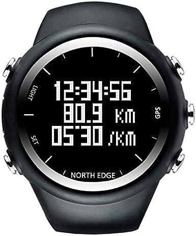 Relojes North Edge Moda Masculina Deporte Profesional al Aire Libre Funcionamiento Impermeable Senderismo Reloj Digital Inteligente, Soporte GPS y Consumo de calorías
