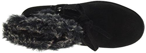 Plushy Nero Donna Stivali Black Adorbs Skechers fTqwpnO5Zx