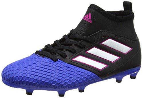 adidas Unisex-Kinder Ace 17.3 Fg J Fußballschuhe Schwarz (Core Black/ftwr White/blue)