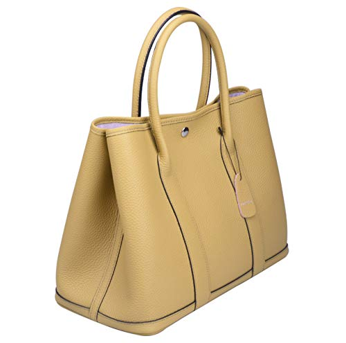 4119356569d8 Jual Ainifeel Women s Genuine Leather Tote Bag Top Handle Handbags ...