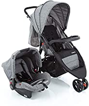 Travel System Jetty Duo Cosco Cosco, Cinza Mescla
