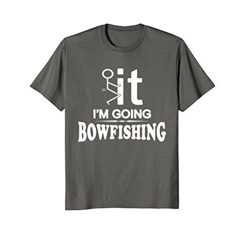 Mens I'm Going Bow Fishing T-Shirt 2XL -