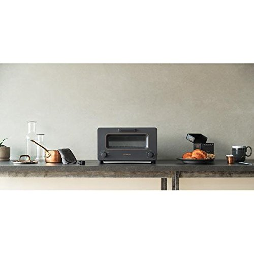Toaster Oven ''BALMUDA The Toaster'' K01E-DC (Charcoal Gray)【Japan Domestic genuine products】
