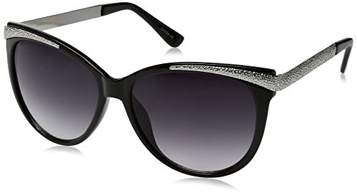 Big Buddha Women's Simone Cateye Sunglasses, Black, 53 - Sunglasses Buddha Big
