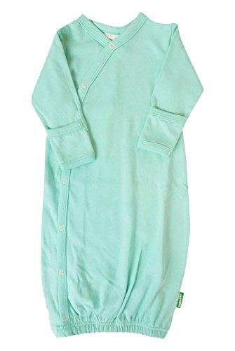 Parade Organics Kimono Gowns - Essentials Turquoise 0-3 (Newborn Baby Gown)