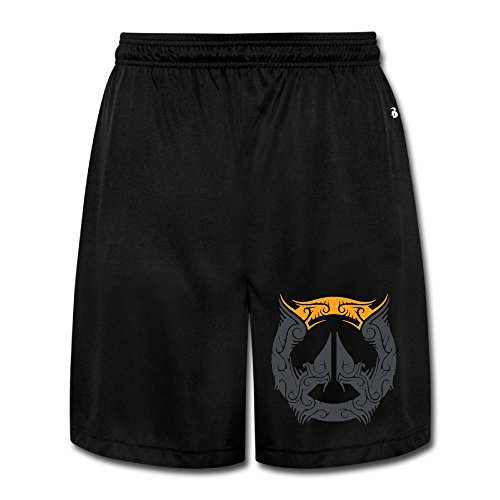 Show Time Men's Over2016watch Short Athletics Workout Pants Black 3X (Ipod Touch 4 Cases Lego)
