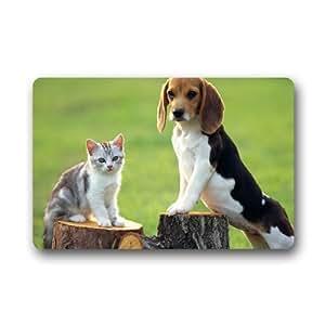 """Beagle Puppy Custom Doormat Indoor Outdoor (23.6""""x15.7"""")"""