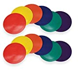American Educational Products Marker Rounds, 9'', Assorted Colors, 2 Sets of 6 (12 Pieces)