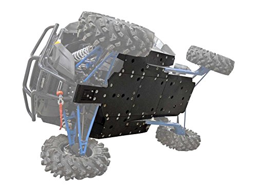 SuperATV Polaris RZR XP 1000 Heavy Duty ARMW Full Skid Plate - (2014-2015) by SuperATV.com