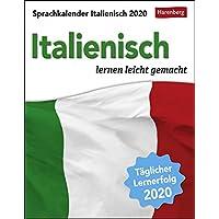 Sprachkalender Italienisch 2020 12,5x16cm