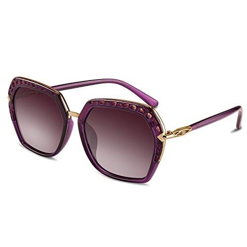 Goliath Ronin Classic Sunglasses Fashion Oversized Square Sunglasses Vintage UV Protection Eyewear for Womens and - Goliath Sunglasses