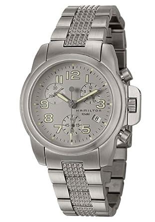 e66899583 Hamilton Khaki Action Chrono Men'S Watch H63412153: Amazon.co.uk: Watches