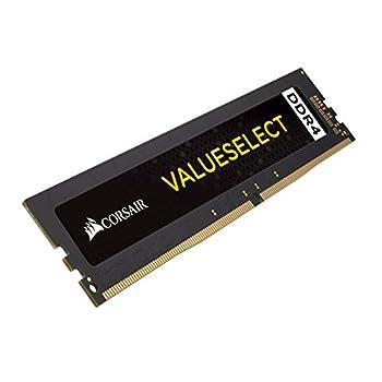 Corsair CMV8GX4M1A2666C18 Value Select 8GB DDR4 2666 C18 1.2V Desktop - Intel Core X and AMD Ryzen Series Computer Internal Memory