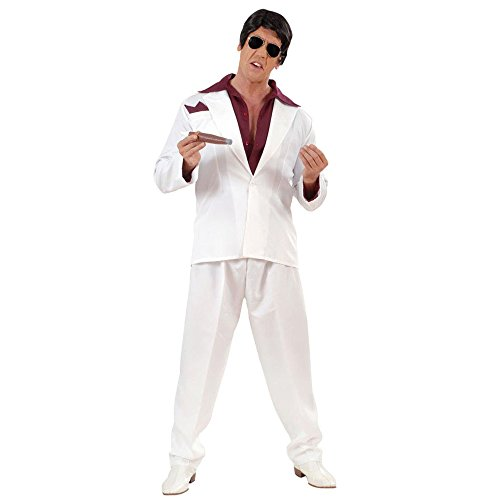 Mens Miami Gangster Costume Medium Uk 40/42