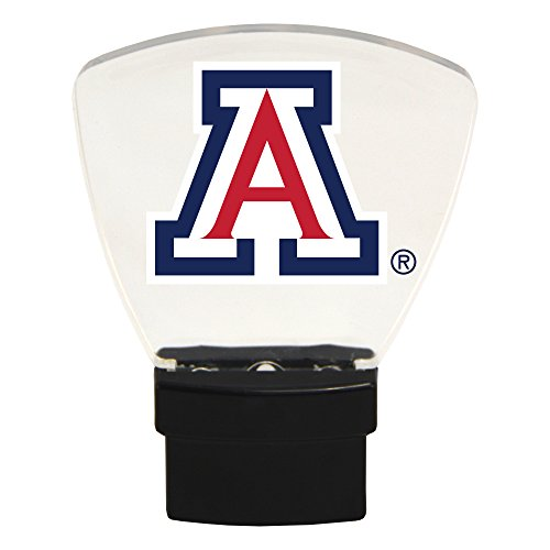 - Authentic Street Signs NCAA Officially Licensed-LED NIGHT LIGHT-Super Energy Efficient-Prime Power Saving 0.5 watt, Plug In-Great Sports Fan gift for Adults-Babies-Kids Room (Arizona Wildcats)