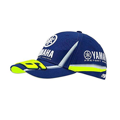 (Cap Valentino Rossi Yamaha VR46 Official Collection Located in USA)