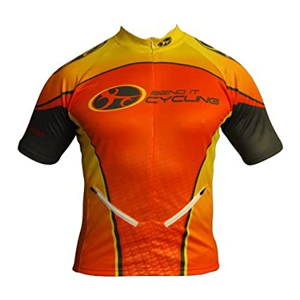 Amazon.com   Tangerine Dream Recumbent Cycling Jersey with Front ... 03b19d8e5