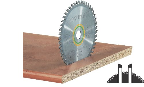 Festool 495377 Fine Tooth Cross-Cut Saw Blade For TS 55 Plunge Cut Saw - 48 Tooth (Cross Fine Cut Thin Kerf)