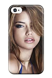 For Iphone Case, High Quality Celebrity Adriana Lima For Iphone 4/4s Cover Cases