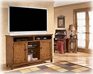 Cross Island Tall Large TV Stand