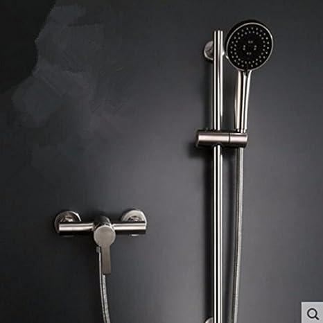 PEIWENIN-Conjunto de boquilla de ducha de acero inoxidable ...