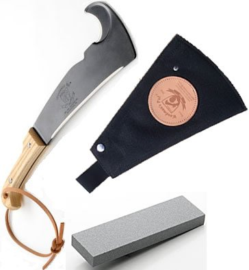 Woodman's Pal Machete with Sheath and Sharpening Stone by Generic