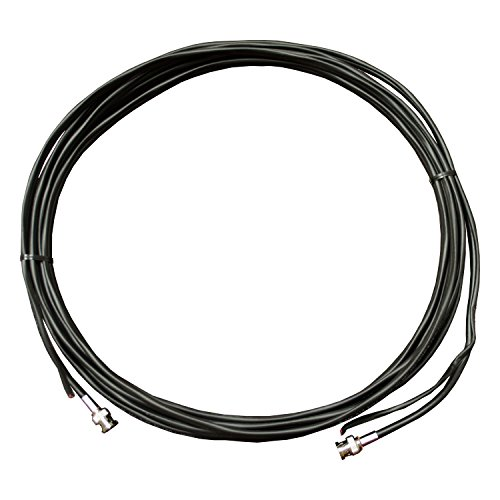 REVO America RBNCR59-300 Elite 300-Feet BNC RG-59 Siamese Cable, Power/Video (Black)