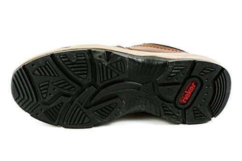 Rieker Samples RK1-033, Chaussures de Ville à Lacets pour Homme Marron Marron B4402