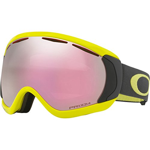 Oakley Canopy Snow Goggles, Citrus Iron Frame, Prizm High Intensity Pink Iridium Lens, - Pink Iridium Oakley