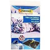 Filtro per lettiera universale - Ricambio al carbone attivo adattabile a tutte le lettiere coperte