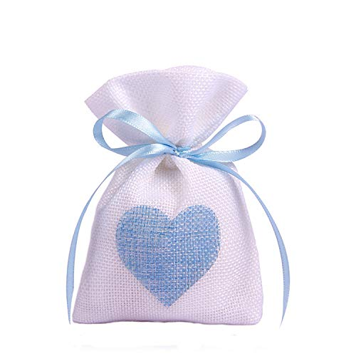10X14Cm White Linen Drawstring Bag Vintage Natural Burlap Gift Candy Bags Wedding Party Favor Pouch Jute Gift Jewelry Bags,Style H