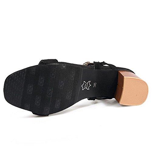 Femmes Zanpa Chaussures D'été De Mode Noir