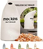 Mockins White Inhaler with Natural Pure Himalayan Pink Salt … … …