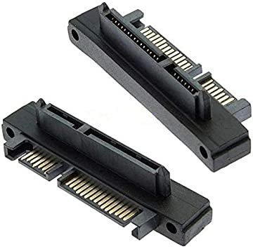 Connectors SATA 22 Pin Male to 22 Pin Female Right Angle Adapter Cable Length: Other